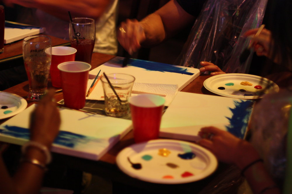 Connection, Art & Wine Night