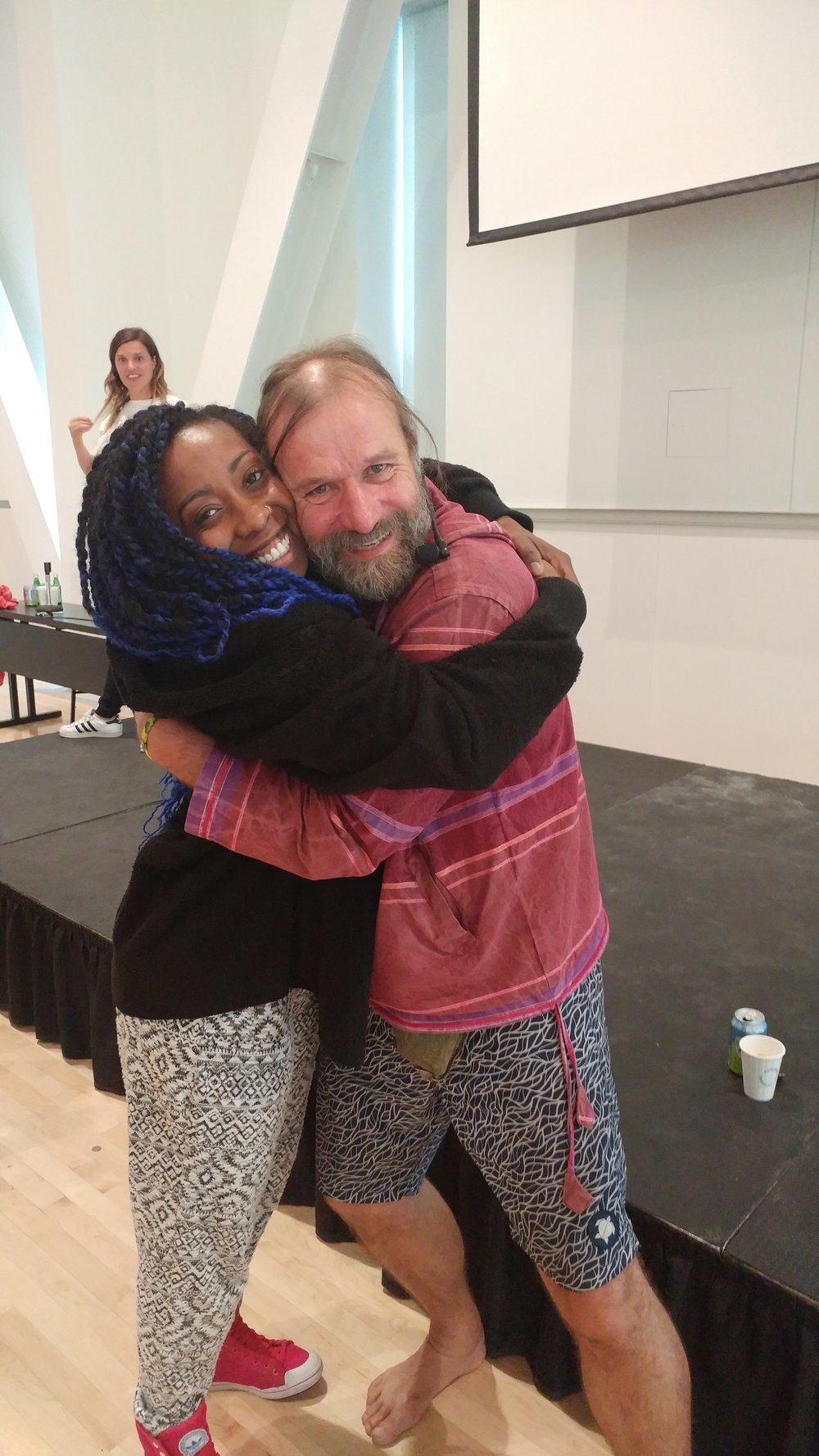 After taking a Breathwork Workshop with the Ice Man himself, Wim Hof at the University of British Columbia, Vancouver, B.C.