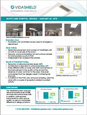 Acute Care Hospital, Nevada