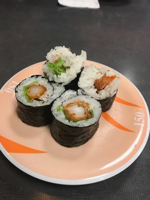 Shrimp Roll, $2