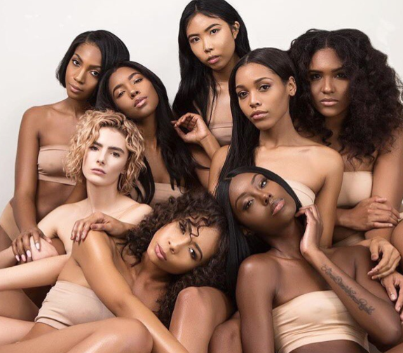 Models: @theodoraaa_, @tatianaelizabethh, @courtneypaigenelson, @exiana_gordon @sharenaaa, @othatonegirl, @bianca_nolden, and @lehoneyb. for skinBUTTR.  Photography by: @othellobancaci @obehave_