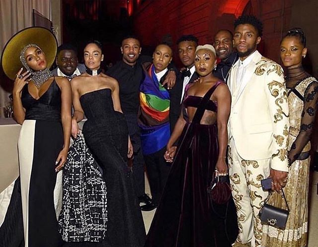 Greatness. Excellence. Power. Black. #MetGala2018 #BlackExcellence #TheHYETV