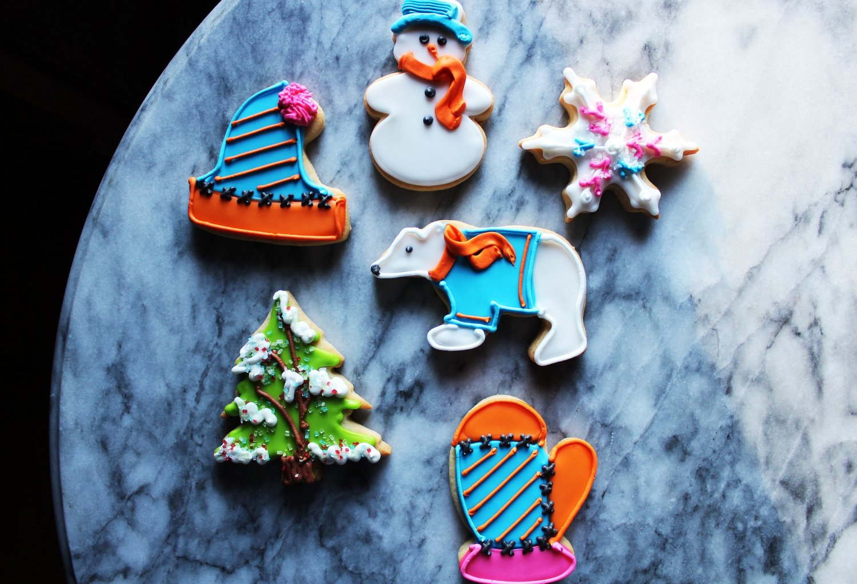 Winter Seasonal Cookies