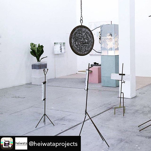 "#tbt 🎯Repost from @heiwataprojects - Martin Chramosta, Mine (Das Wundern / Ertrag 1-4), 2017 | Christopher Kulendran Thomas, New Eelam, 2016, in collaboration with Annika Kuhlmann | Christopher Kulendran Thomas, from the ongoing work: ""When platitudes become form"", 2016 for exhibition ""Quart d'heure américain"", curated by #heiwataprojects at @mainsdoeuvres . With Robert Filliou, Joel Andrianomearisoa & Ivan Krassoievitch, Alex Ayed & Georgia Dickie, Cecile Bouffard & Matthieu Cossé, Corentin Canesson & Bastien Cosson, Martin Chramosta & Martina-Sofie Wildberger, Charlie Jeffery & Joshua Schwebel, Christopher Kulendran Thomas & Thu Van Tran. . And Kim Bradford & Joseph Perez, France Besnier & Julien Gasc, Jérémie Gaulin & Bertrand Poncet, HERSHEY/HITO (Catherine Hershey & Yohanna My Nguyen) . Curated by heiwata AKA @alma_sld @a__vdw @elsadelage @pucemoment_ . #martinchramosta #christopherkulendranthomas #annikakuhlmann #duoshow #duoexhibition  #fluxusinstructions #exhibition #exhibitionview #robertfilliou #fluxus #heiwata #heiwataprojects #heiwatawashere #contemporaryart #poesy #poesie #collectiveshow #internationalexhibition #mdoforever #mainsdoeuvres #performanceart #installationart #curatedby #elsadelage #anaislepage #almasaladin #aurelievandewynckele . 📸 @jeremy.benkemoun 