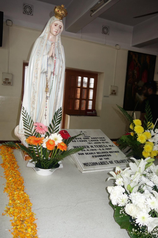 Mother Teresa's Tombstone