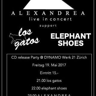 Be there! We need your support! 19.Mai #alexandrea #gig #züri #goodmusic