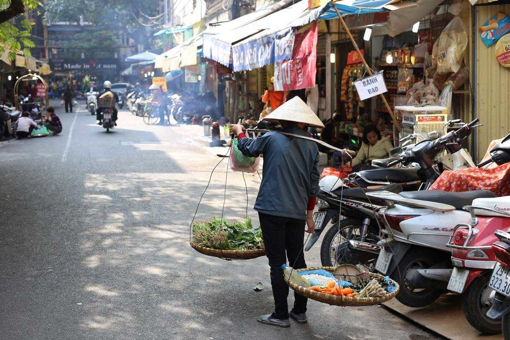 Old Quarter, Hanoi, Vietnam.