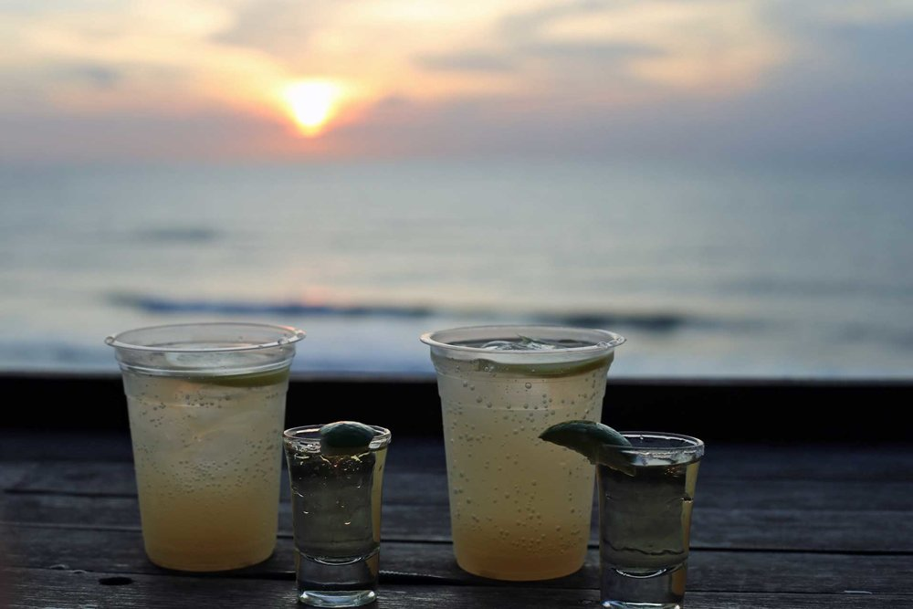 Tequila + Sunset = :)
