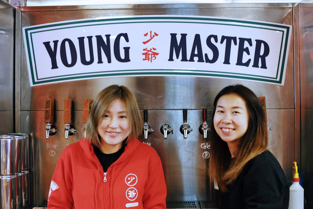 Ashley & Ronda, the ladies of Young Master Ales.