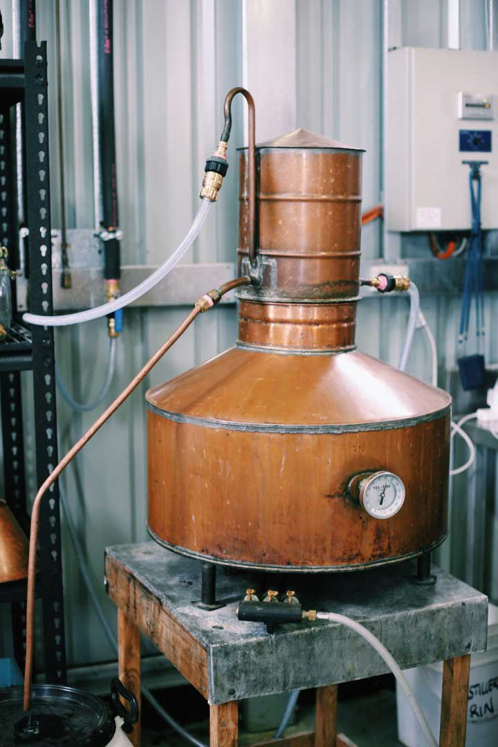 """We're making whisky by hand in small batches relying on our senses to make our cuts and our natural environment when concocting our brews. All very hands on, all very innovative. Every day is a school day as we get to grips with our process and craft making some of the best new make and mature spirits in the world."" - Craig"