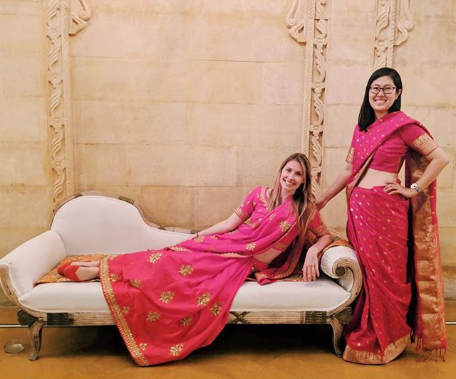 Getting a little too castle comfortable. Thanks @ayjain10 for the royal treatment over the past two weeks! Leaving with so much love for India. 🇮🇳