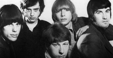 From left: Jeff Beck, Jimmy Page, Chris Dreja, Keith Relf and Jim McCarty.