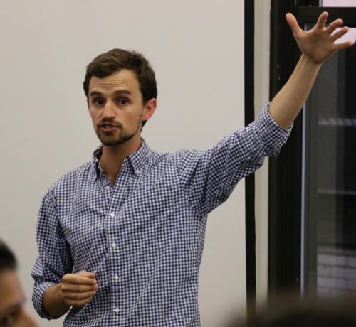 Daniel Fenjves,  Upperline: School of Code