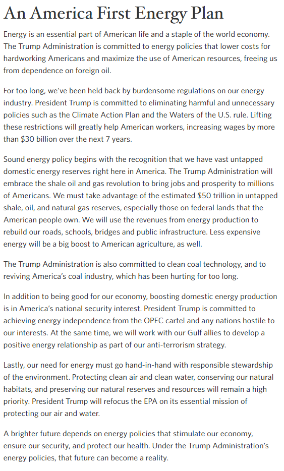 Resource taken from http://www.whitehouse.gov/america-first-energy