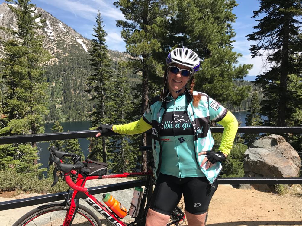 Reno-based Bike Like a Girl Ambassador Lisa Anderson
