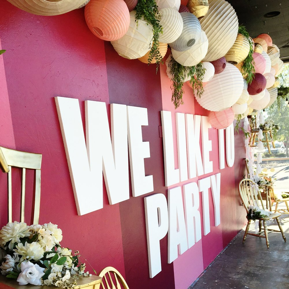 #BlissParties. Beyond weddings, we love any reason to party: baby, birthday, quinceneras, bridal, vow renewals.. your party, our help.