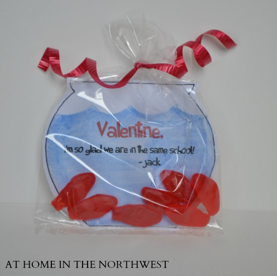 AT HOME IN THE NORTHWEST FISH VALENTINE 2