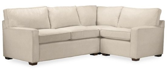 pottery barn pb square sectional