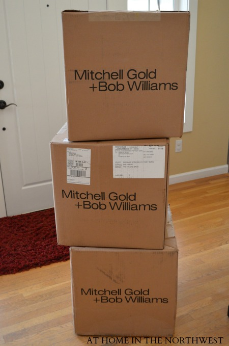 MITCHELL GOLD BOXES