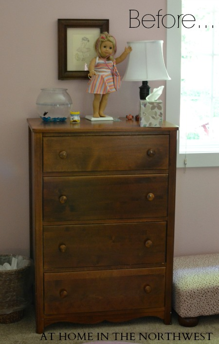 DRESSER BEFORE PAINT....at home in the northwest