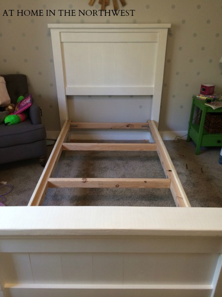 Building a bed 4  at home in the northwest