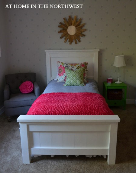 FARMHOUSE BED  at home in the northwest