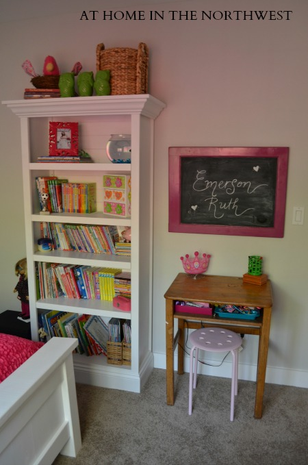 GIRLS ROOM ONE ROOM CHALLENGE  at home in the northwest