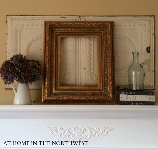 mantel  at home in the northwest