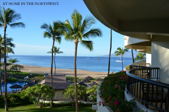 maui sheraton  at home in the northwest