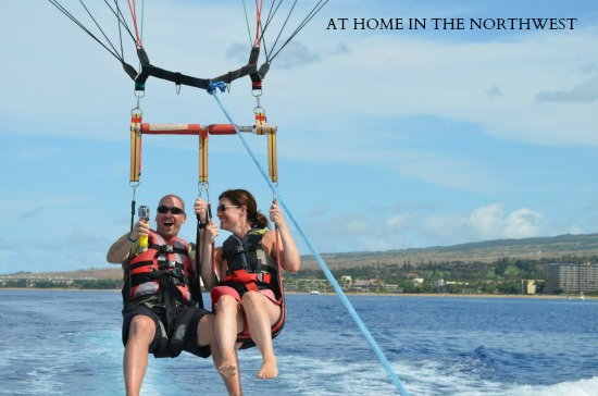 parasailing maui 3  at home in the northwest