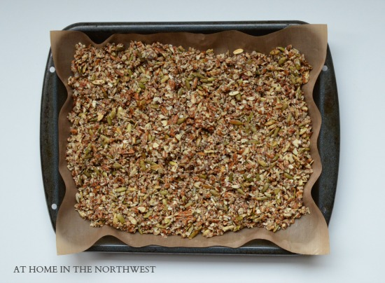 GLUTEN FREE AND GRAIN FREE GRANOLA RECIPE 1 ... AT HOME IN THE NORTHWEST