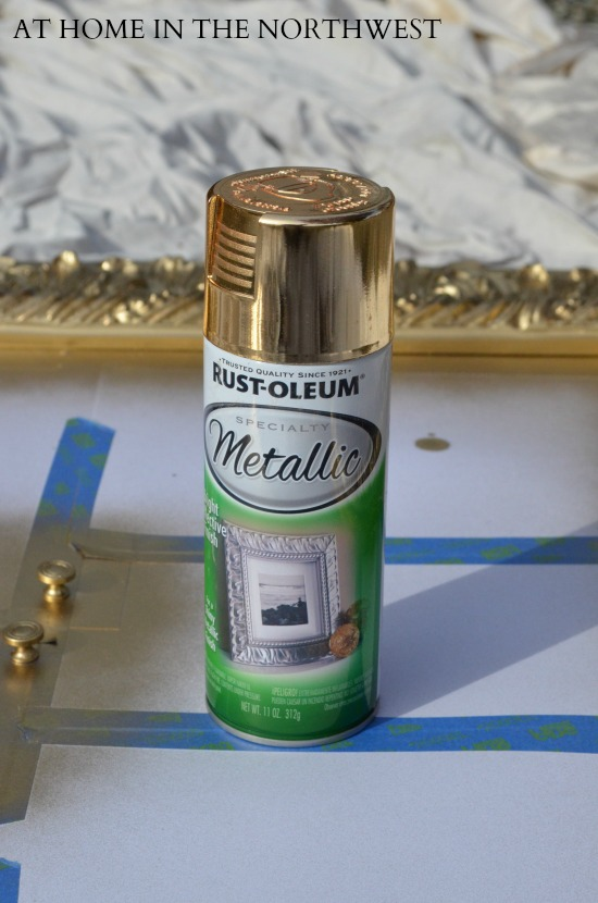 RUSTOLEUM METALLIC GOLD SPRAYPAINT