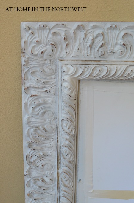 WHITE MIRROR FRAME