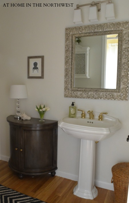 Powder Room Reveal 7  at home in the northwest blog