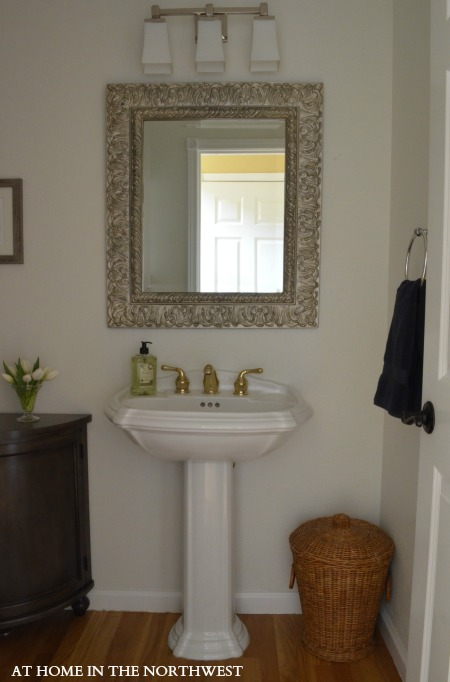 powder room reveal 3  at home in the northwest