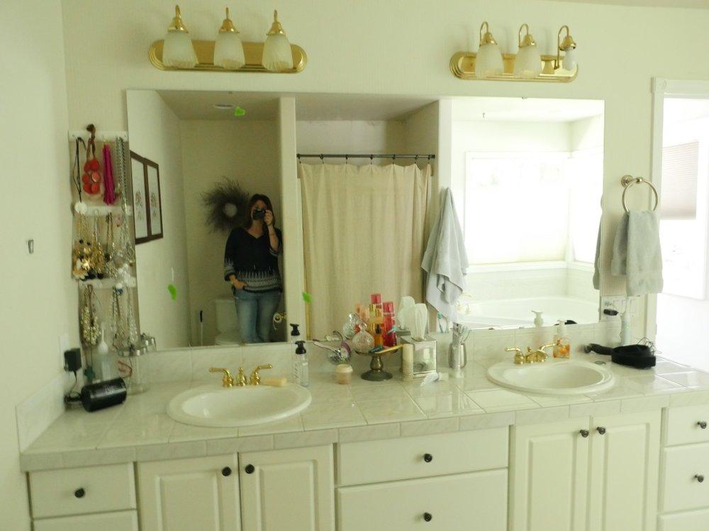 Jen Gilday Interiors - Master Bathroom Before