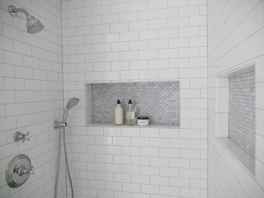 Jen Gilday Interiors - Master Bathroom 'after'