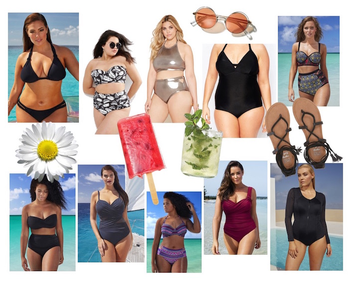 plus size swim wear 2016