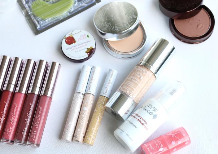 100 % pure makeup