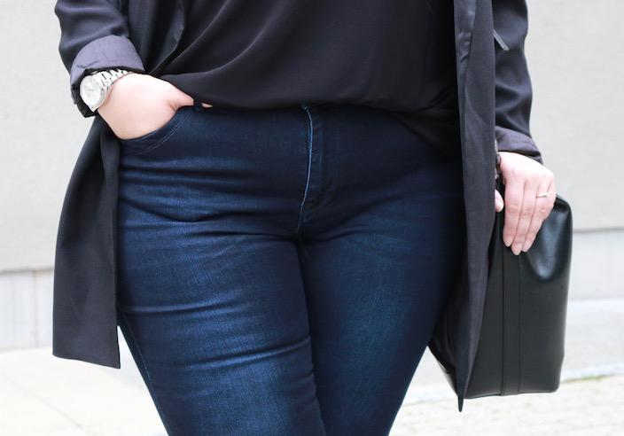 amy jeans blue