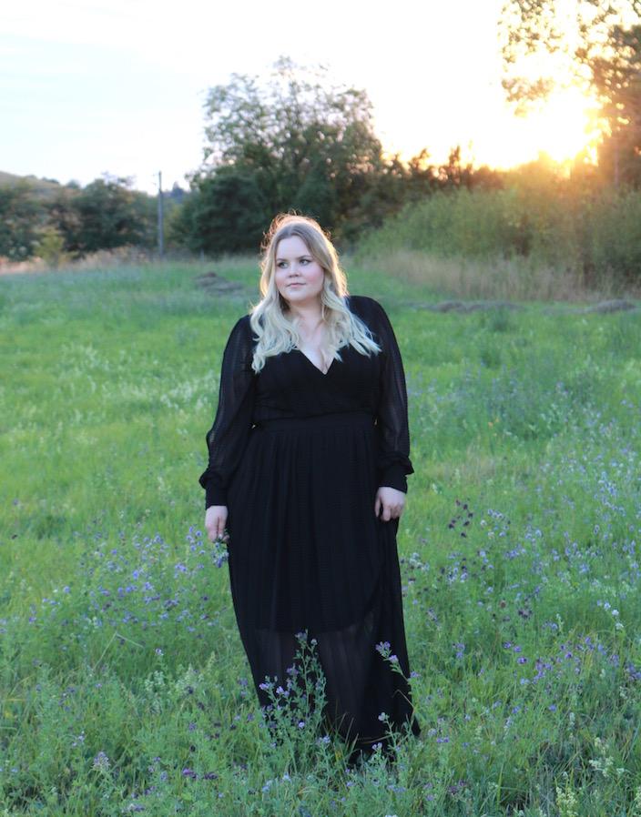 zizzi black label dress