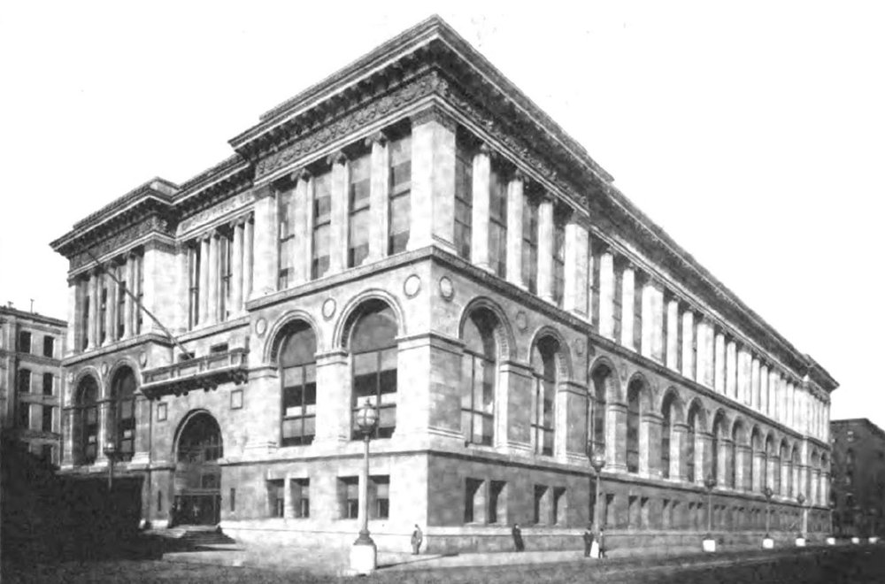 The building in 1920 Image: Public domain