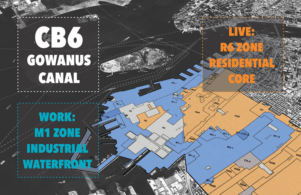 Gowanus industrial and residential zones. Image: mx.org