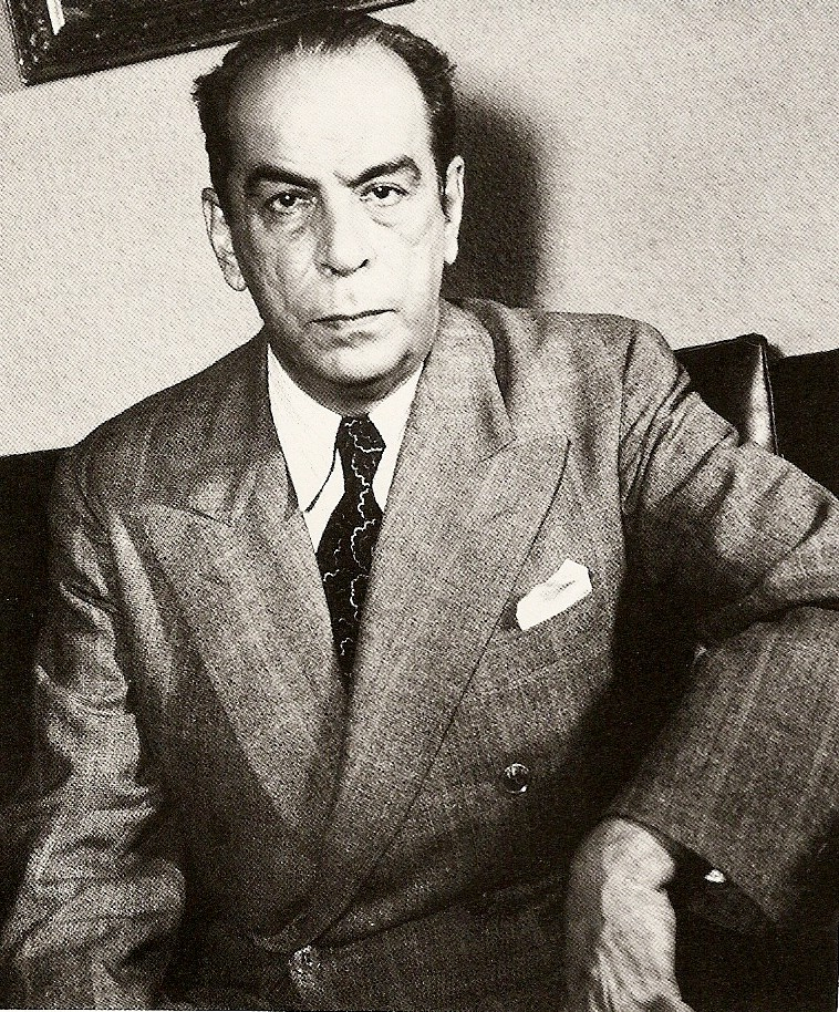 Romulo Gallegos in the 1940s Public domain