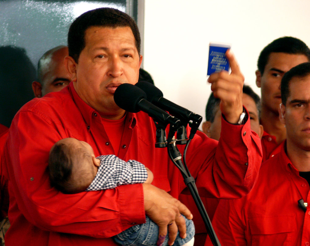Hugo Chavez in 2007 Credit: Ariel Lopez,CC by NC SA 2.0