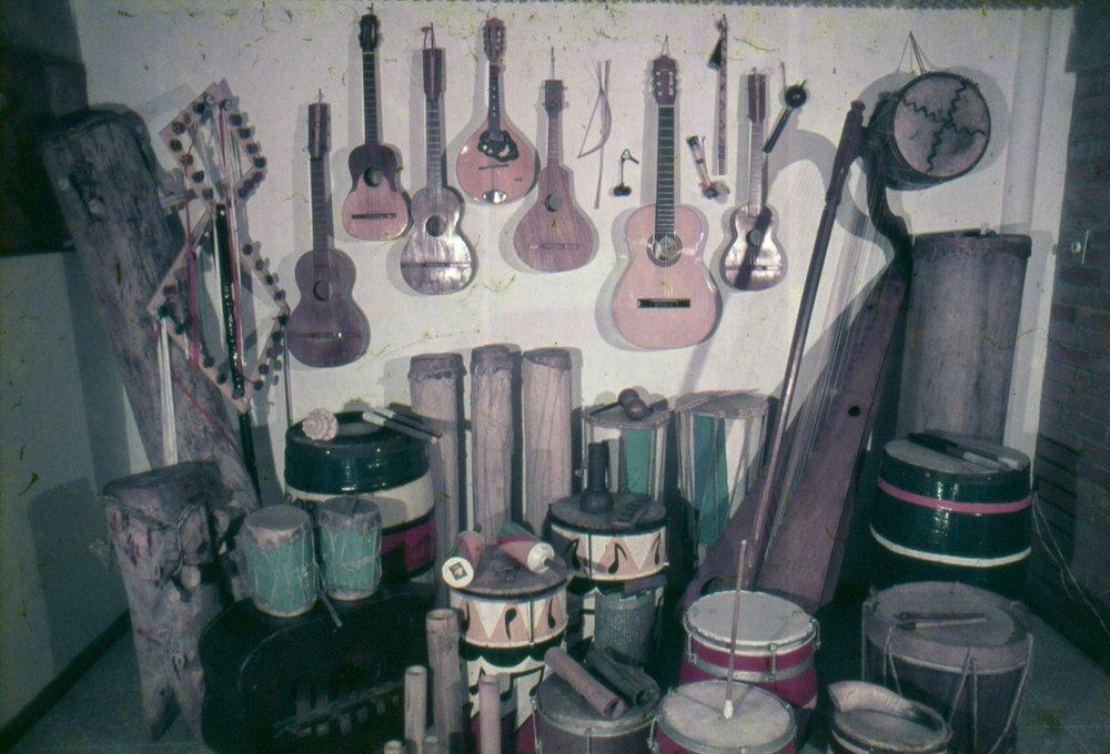 Traditional Venezuelan instruments Credit: Oswaldo Lares