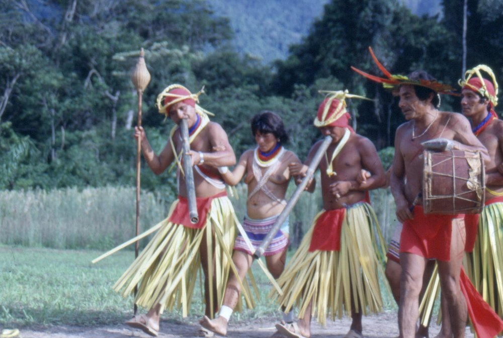 Yekuana tribe, 1993 Credit: Oswaldo Lares