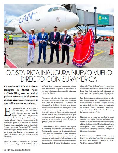 See full magazine clicking on this link: https://drive.google.com/file/d/0B4ihxHIdjcKQVmt4S3U2aWxPZVFTQnJ5RlN1bHlmMXhCRDk0/view?usp=sharing   For more information contact Douglas Herrera at douglas@ciceronetur.com fbk: @douglasherrera