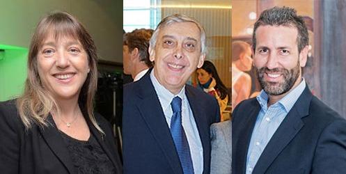Claudia Gonzalez, Alberto Sanchez Lavalle and Adrian Bertini from                  LADEVI MEDIA AND SOLUTIONS