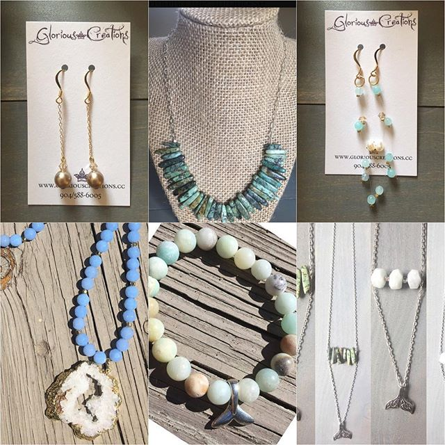Items available for immediate delivery! Link in bio! #shopsmall #Christmascheer #handmadejewelry #beachinspired